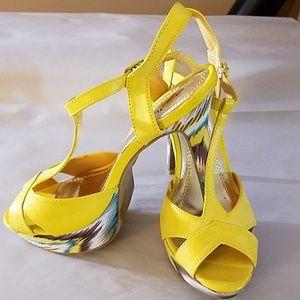 Anne Michelle platform heels
